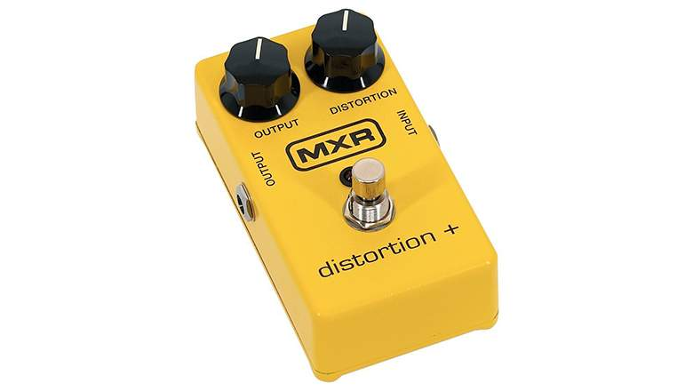 Best Guitar Pedals: MXR M104 Distortion +