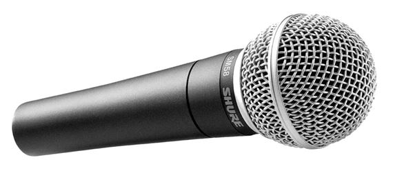 Best live vocal microphones: Shure SM58